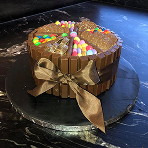 Candy Chocolate Birthday Cake