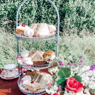 Afternoon tea on the Castle Eden Walkway
