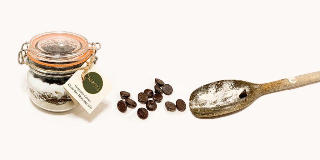 Chocolate brownies mix