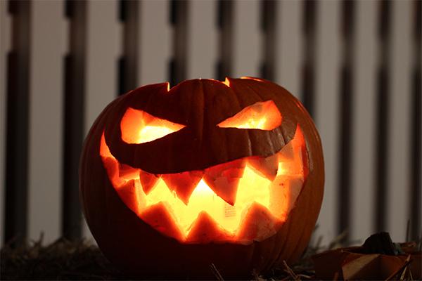 Jack-o'-lantern pumpkin for Halloween